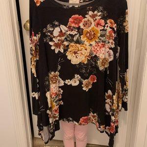 Floral asymmetric top